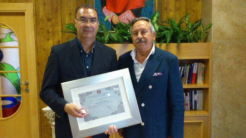 dsc 0274 1024x576 Funvic recibe el premio Insignia de Oro y Brillantes de la Asociación Colegial de Criminólogos de la Región de Murcia