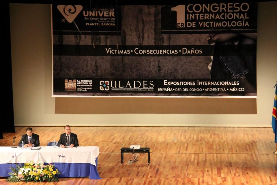 """Ponencia """"La atención integral a las víctimas de delitos en el marco de la Unión Europea"""""""
