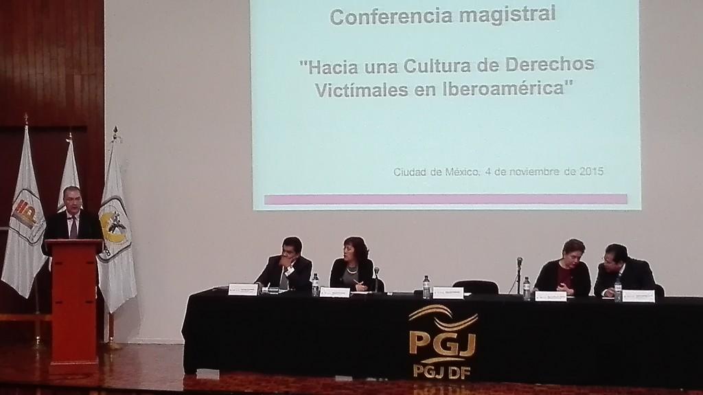 """img 20151104 112550 1024x575 Ponencia """"Hacia una nueva cultura de Derechos Victimales en Iberoamérica"""""""