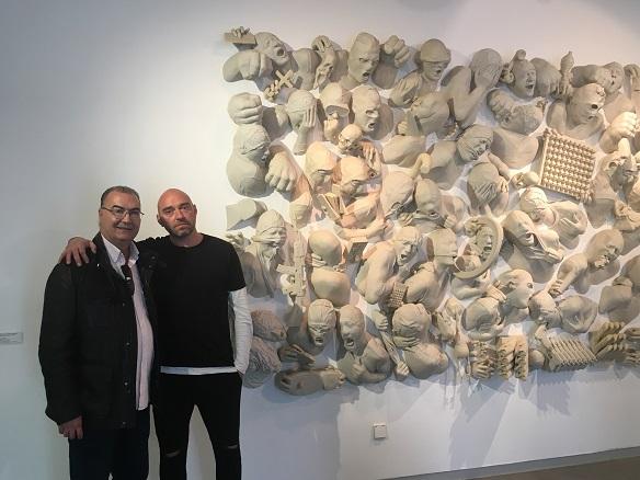img 79351 Entrevista al artista Lidó Rico sobre su colaboración con la Fundación de Victimología
