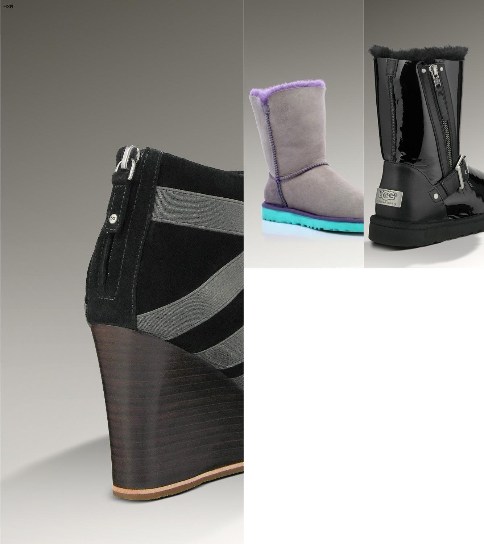 las botas ugg de que estan hechas