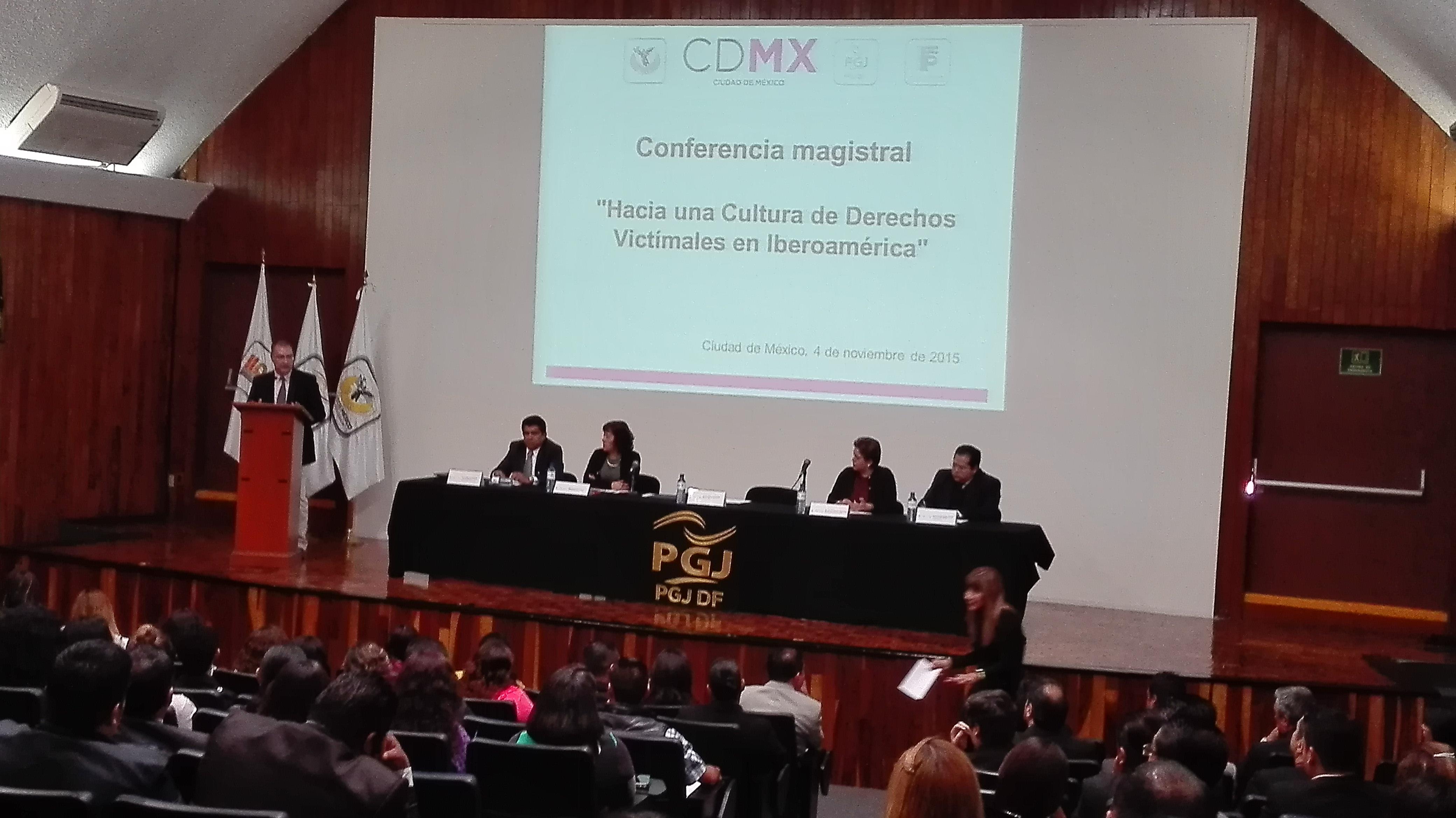 """Ponencia """"Hacia una nueva cultura de Derechos Victimales en Iberoamérica"""""""
