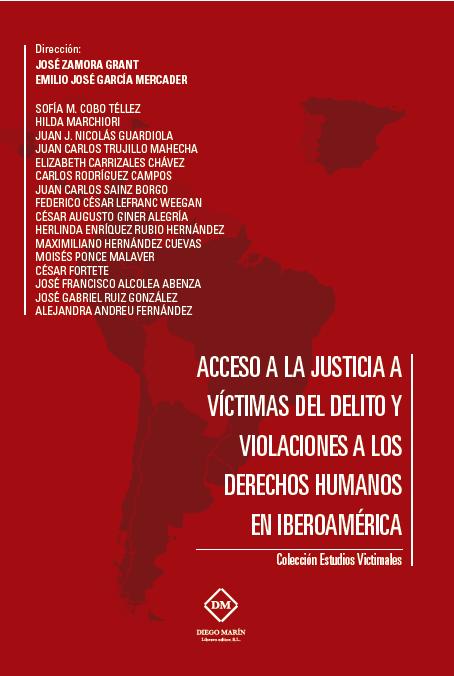 Libro Acceso a la justicia a víctimas del delito y violaciones a los derechos humanos en Iberoamérica